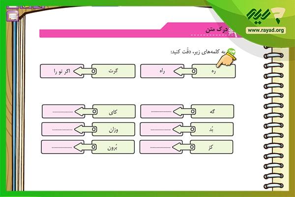 آموزش فارسی میشا و کوشا پنجم دبستان