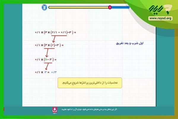 ریاضی میشا و کوشا ششم ابتدایی