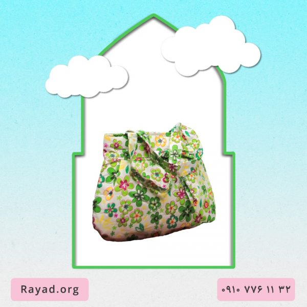 بسته چادر نماز جشن تکلیف نسترن سبز