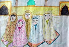 نقاشی جشن تکلیف