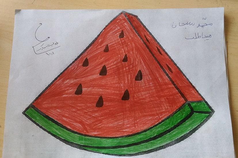 نقاشی یلدا