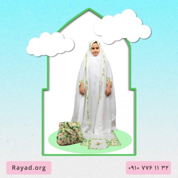 چادر جشن تکلیف شیک نسترن سبز