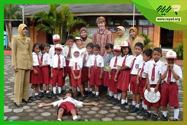 لباس فرم در مدارس کشور اندونزی