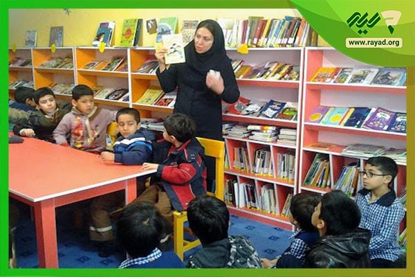 معلم و کتابخوانی
