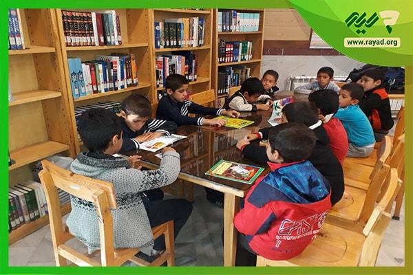 کتابخانه مدرسه