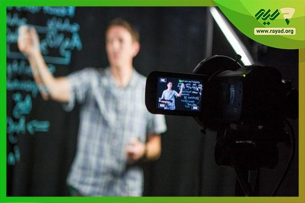 خلاقیت در تدریس مجازی از طریق ضبط ویدیو