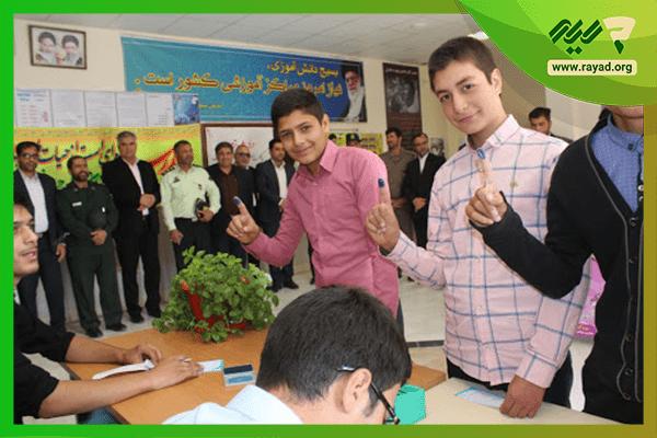 تبلیغ شورای دانش آموزی