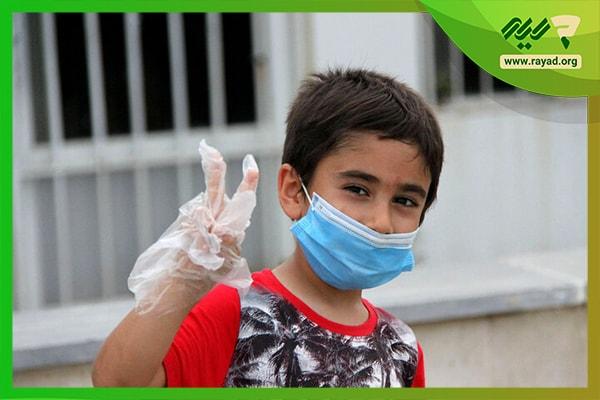 کاهش ترس کودکان از ویروس کرونا