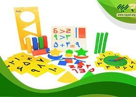 کیت آموزشی ریاضی ابتدایی شامل چه چیزهایی است ؟