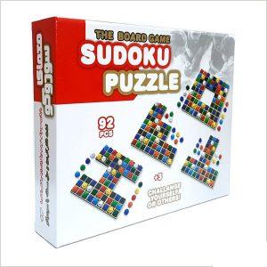 بازی فکری معمای سودوکو