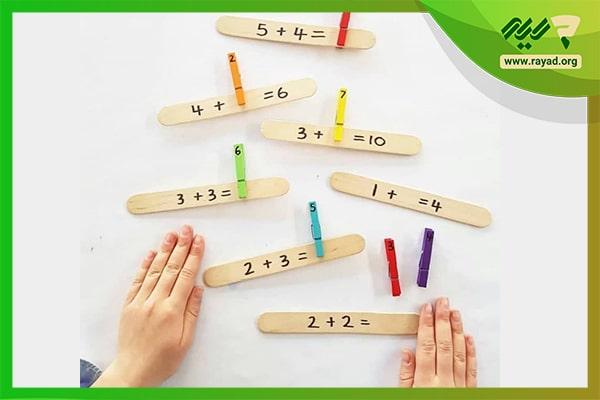 دست ورزی ریاضی کلاس اول