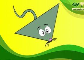 محیط و مساحت مثلث قائم الزاویه