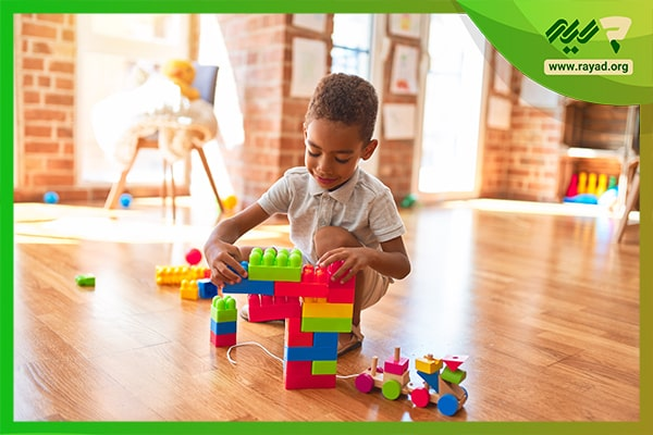 اسباب بازی برای تقویت فضایی کودک-min