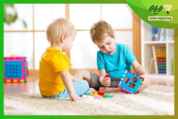 اسباب بازی برای تقویت هوش دیداری-فضایی کودک-min