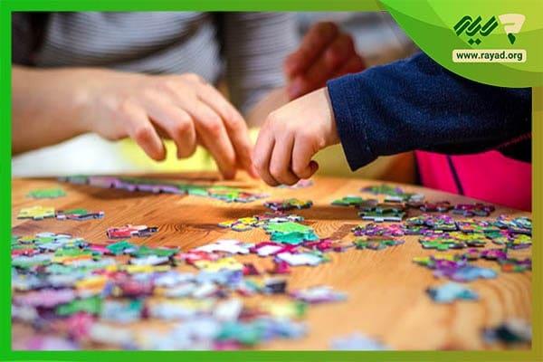 اهمیت پازل برای کودکان
