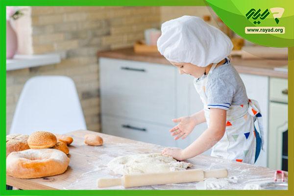 آشپزی کودک