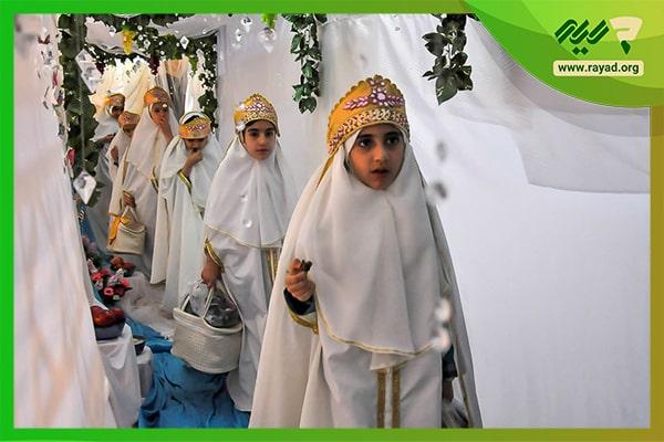 آموزش نماز در جشن عبادت
