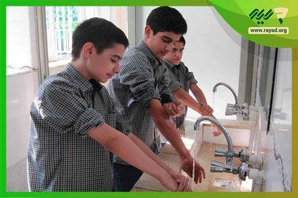 آموزش نماز و وضو به کودکان