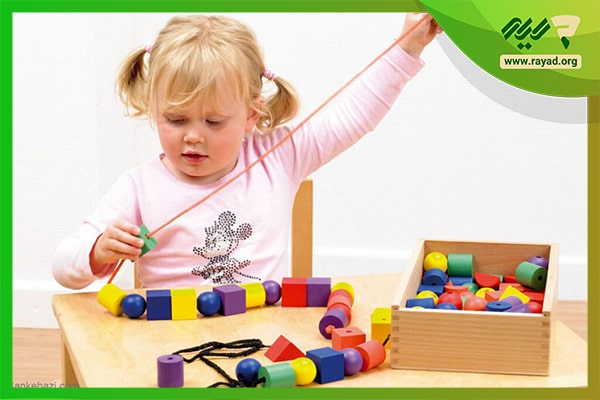 بازی با نخ برای کودکان