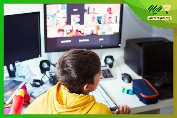 بازی در کلاس های آنلاین