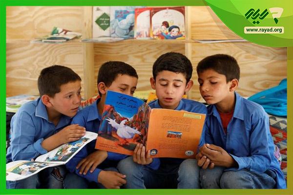 کتابخوانی در مدارس
