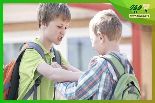 پرخاشگری در دانش آموزان ابتدایی